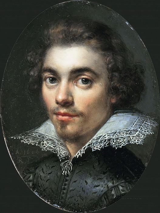 Monogrammist RF - Portrait of a Man. Mauritshuis