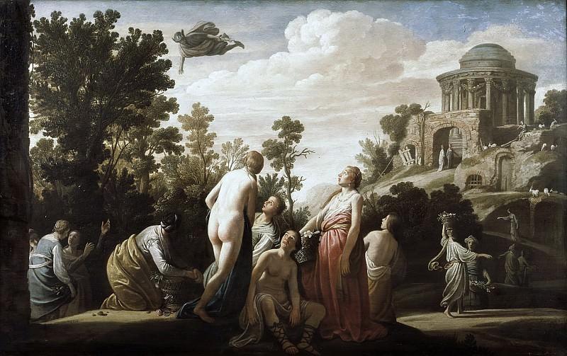 Nicolaes Moeyaert - Mercury and Herse. Mauritshuis