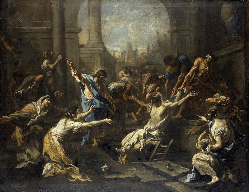 Alessandro Magnasco - The Raising of Lazarus. Mauritshuis