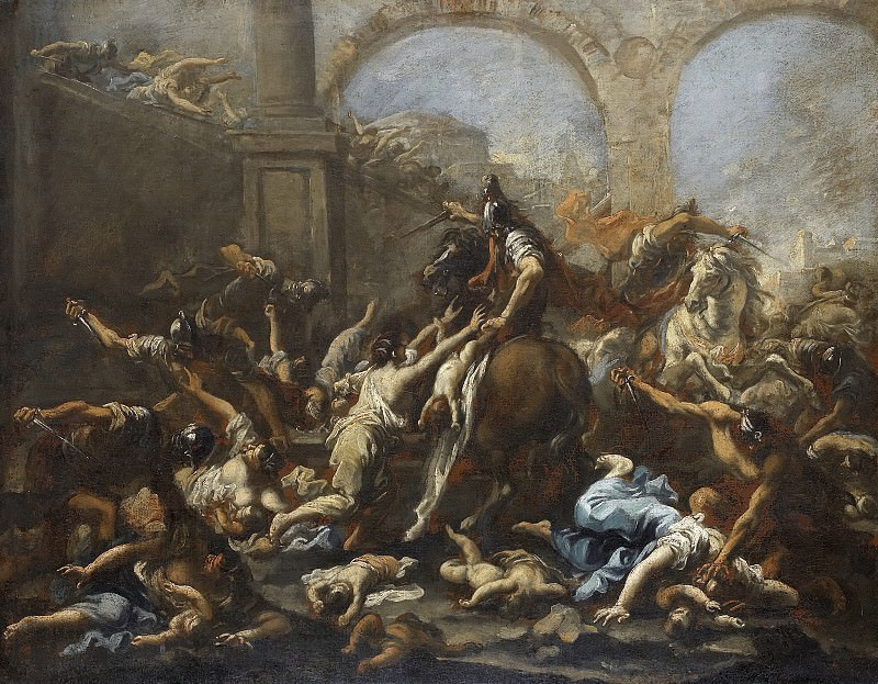 Alessandro Magnasco - The Massacre of the Innocents. Mauritshuis