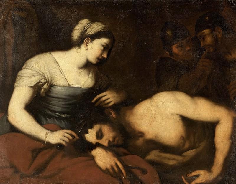Luca Giordano (follower of) - Samson and Delilah. Mauritshuis
