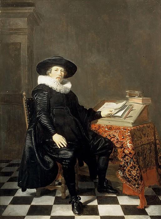 Thomas de Keyser - Portrait of a Scholar. Mauritshuis