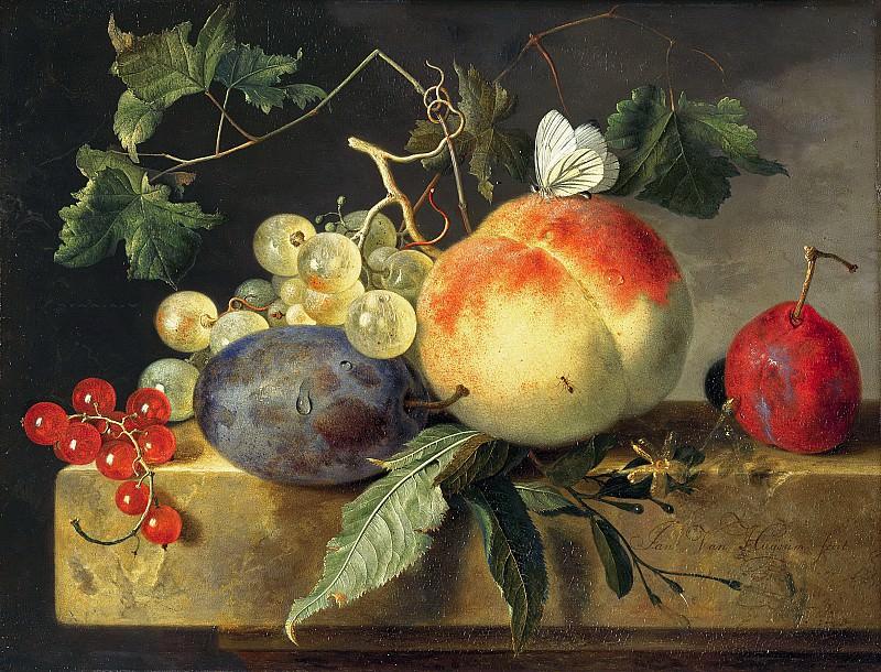 Jan van Huysum - Fruit Still Life. Mauritshuis