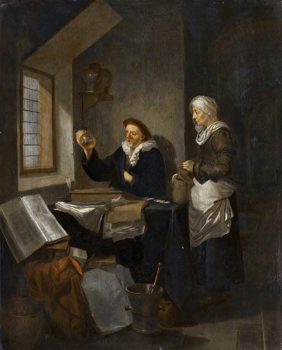 Hendrick Heerschop - The Doctor's Visit. Mauritshuis
