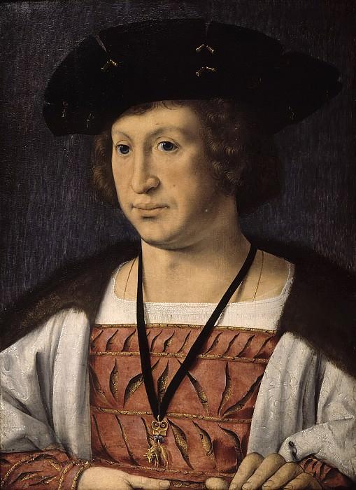 Jan Gossaert - Portrait of Floris van Egmond (1469-1539). Mauritshuis