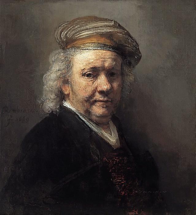 Rembrandt van Rijn - Self-Portrait. Mauritshuis
