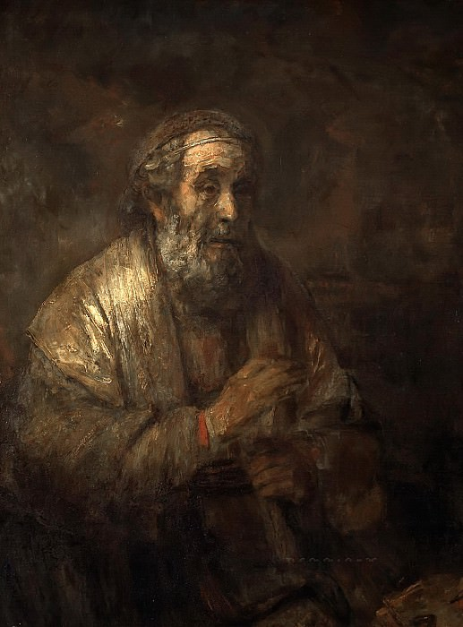 Rembrandt van Rijn - Homer. Mauritshuis
