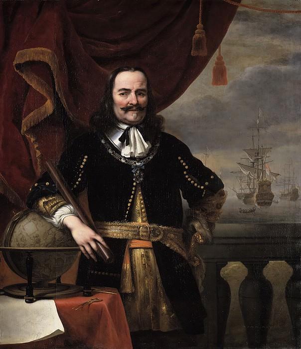 Ferdinand Bol - Portrait of Michiel de Ruyter (1607-1676). Mauritshuis