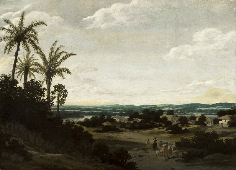 Frans Post - Brazilian Landscape. Mauritshuis