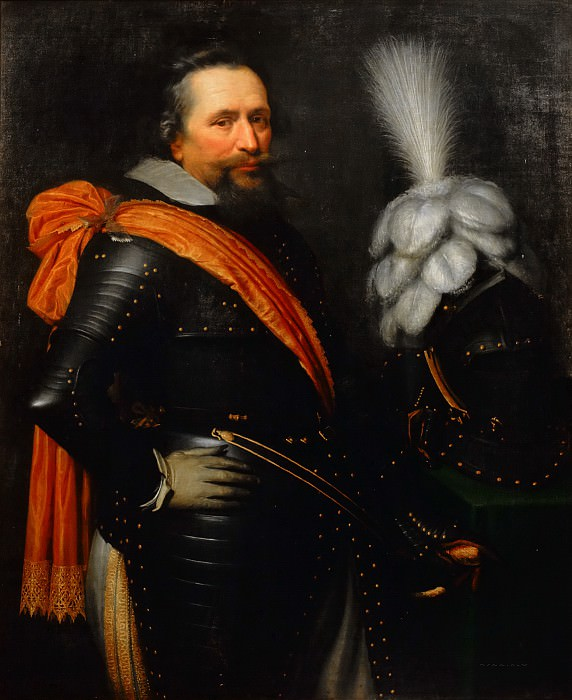 Jan Anthonisz van Ravesteyn (and studio) - Portrait of an Officer, presumably Anthonis van Utenhoven (d. 1625). Mauritshuis