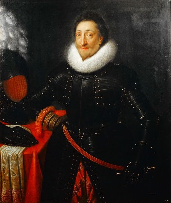 Frans de Goltz - Portrait of an officer. Mauritshuis