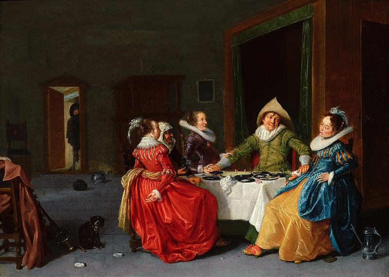 Hendrick Pot - Merry Company in a Brothel. Mauritshuis