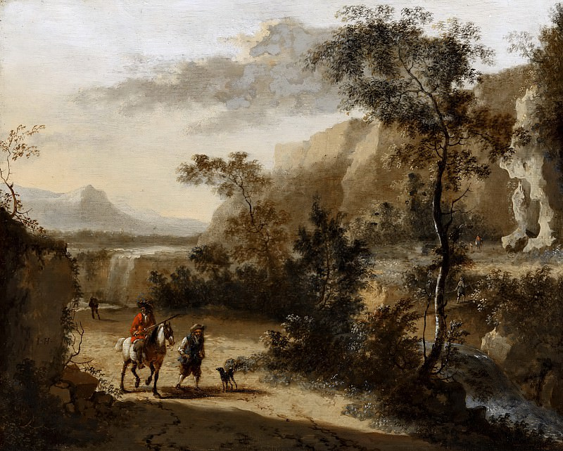 Хакарт, Ян - Итальянский пейзаж. Маурицхёйс