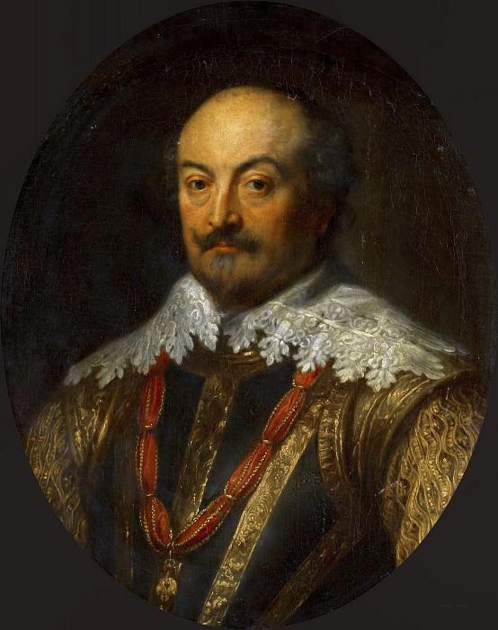 Anthony van Dyck (after) - Portrait of Jan III (1583-1638), Count of Nassau-Siegen. Mauritshuis