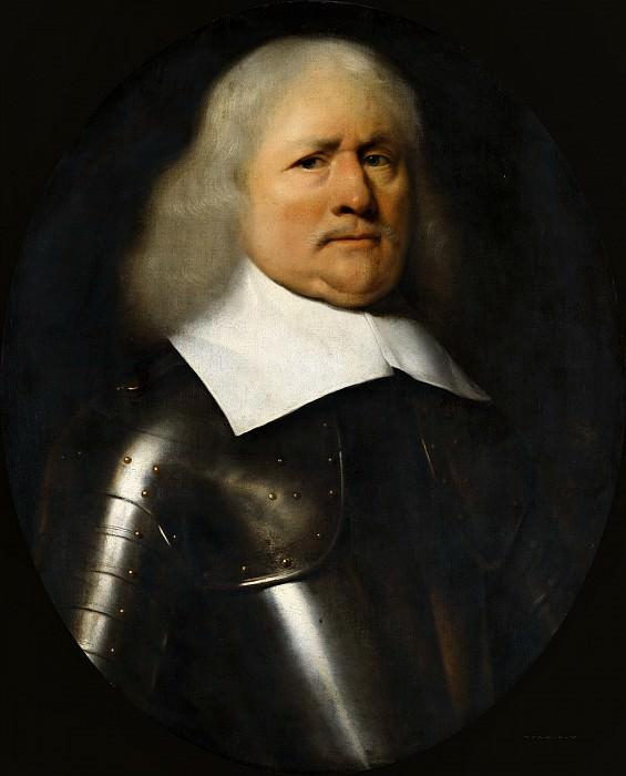 Ferdinand Bol (manner of) - Portrait of Maerten van Juchen (d. 1672/73). Mauritshuis