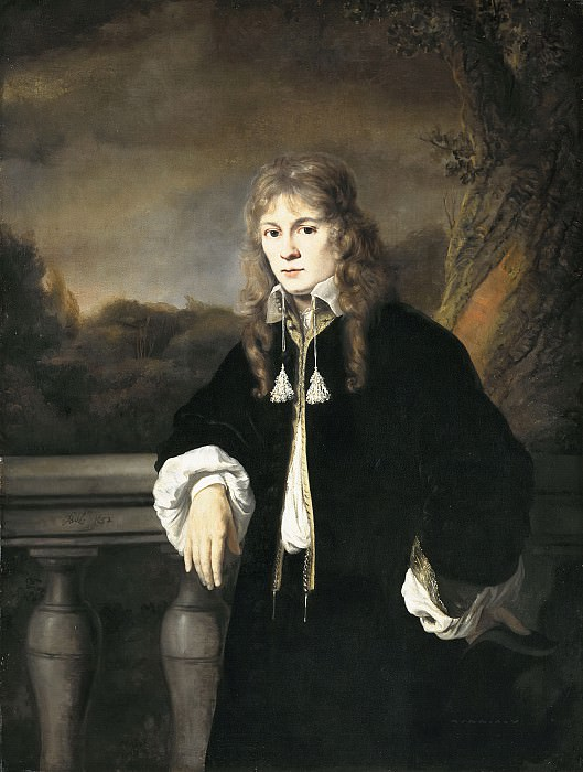 Ferdinand Bol - Portrait of a Young Man, presumably Louis Trip Jr (1638-1655). Mauritshuis