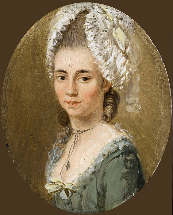 Ozias Humphry - Portrait of a Woman. Mauritshuis