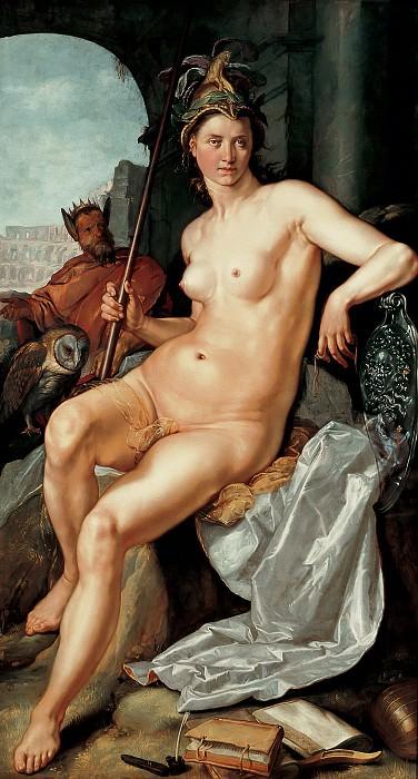 Hendrick Goltzius - Minerva. Mauritshuis