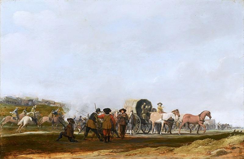 Пост, Питер - Нападение на солдатский конвой. Маурицхёйс