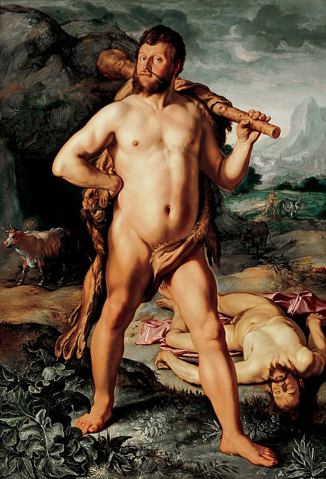 Hendrick Goltzius - Hercules and Cacus. Mauritshuis