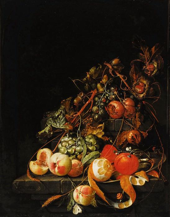 Хем, Корнелис де - Натюрморт с фруктами. Маурицхёйс