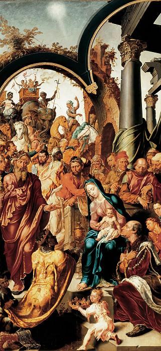 Maerten van Heemskerck - The Adoration of the Magi. Mauritshuis