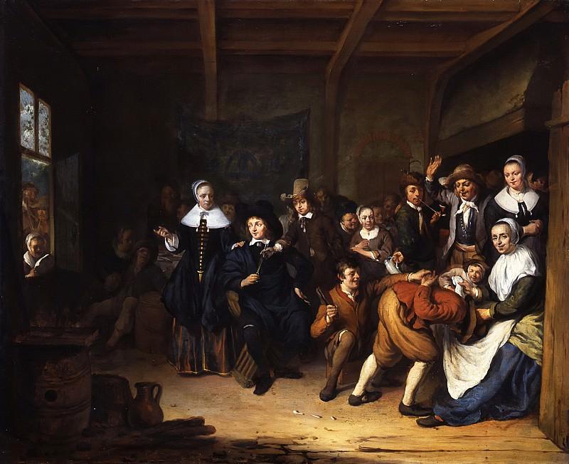 Cornelis de Man - 'La Main Chaude'. Mauritshuis