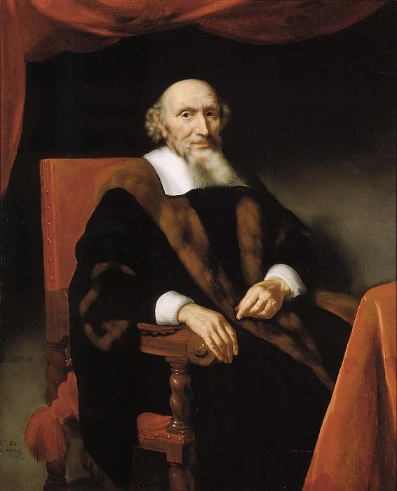 Nicolaes Maes - Portrait of Jacob Trip (c.1576-1661). Mauritshuis