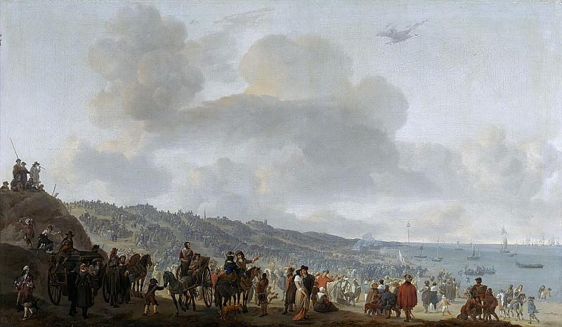 Лингельбах, Иоганн - Отплытие Карла II из Схевенингена 2 июня 1660 года. Маурицхёйс