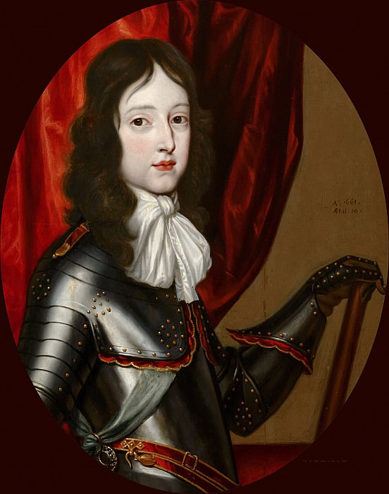 Abraham Ragueneau (after) - Portrait of William III (1650-1702), Aged Ten. Mauritshuis
