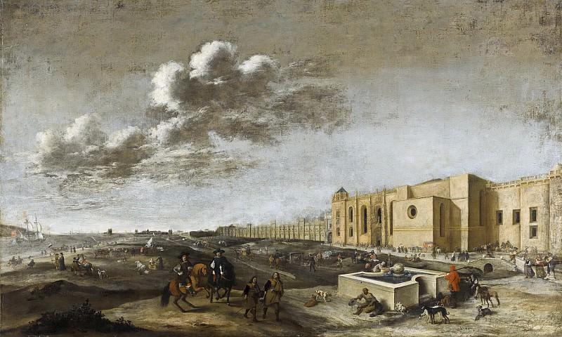 Dirck Stoop - View of Belem Monastery near Lisbon. Mauritshuis
