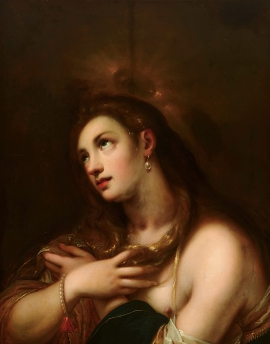Gortzius Geldorp the Elder - The Penitent Mary Magdalen. Mauritshuis