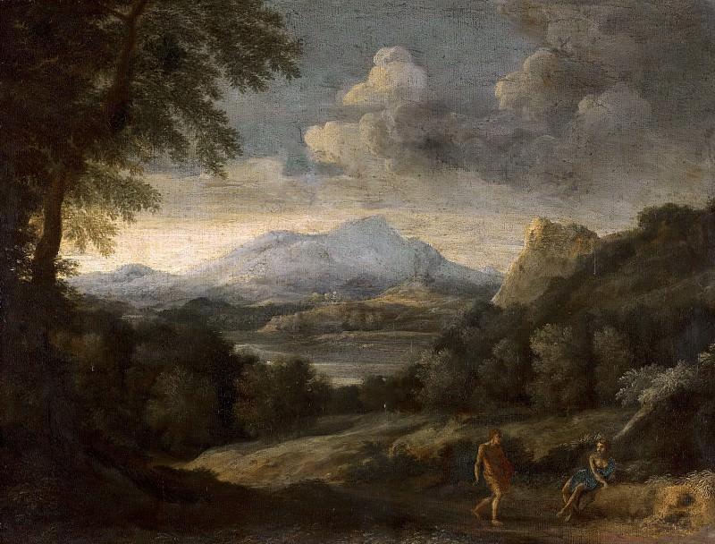 Gaspard Dughet - Mountainous Landscape. Mauritshuis