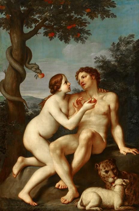 Marcantonio Franceschini - Adam and Eve. Mauritshuis