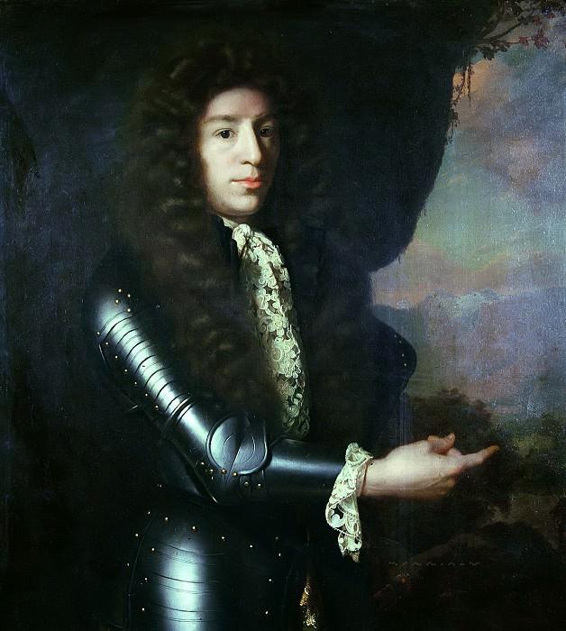 Godfried Schalcken - Portrait of Diederick Hoeufft (1648-1719). Mauritshuis