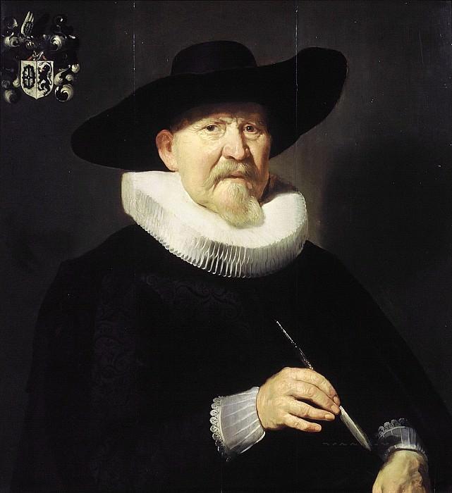 Thomas de Keyser - Portrait of a Man, probably Hans van Hogendorp. Mauritshuis