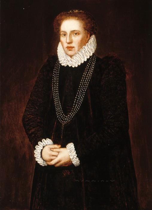 Северо-Нидерландская школа - Портрет Франсуазы де Витте (ум. 1605/6). Маурицхёйс