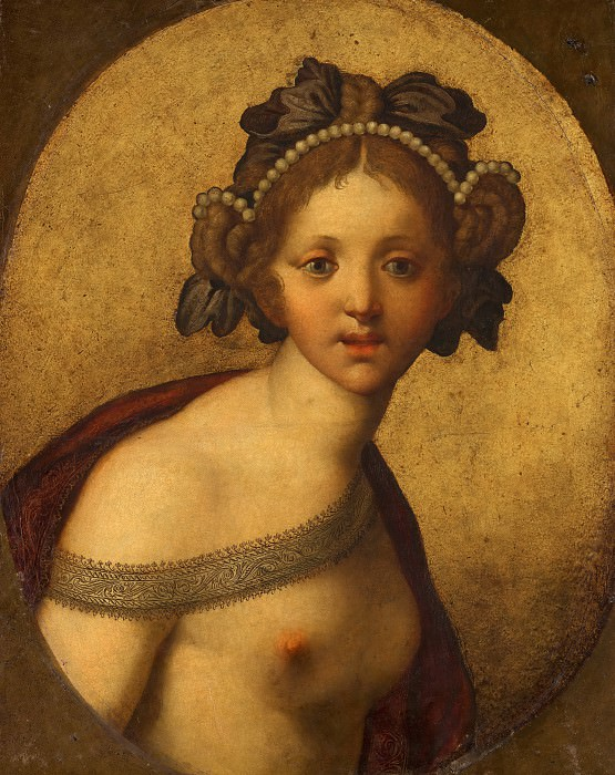 Anonymous (Italy) - Female Figure (A Goddess?). Mauritshuis