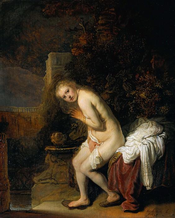Rembrandt van Rijn - Susanna. Mauritshuis