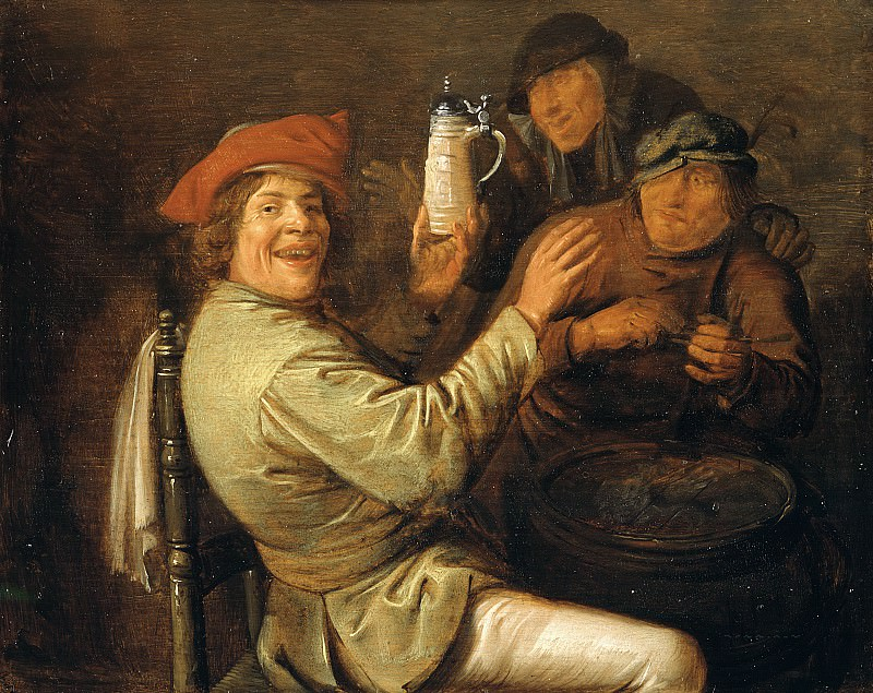 Jan Miense Molenaer - The Five Senses: Hearing. Mauritshuis