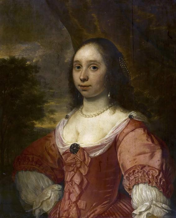 Bartholomeus van der Helst - Portrait of a Woman. Mauritshuis