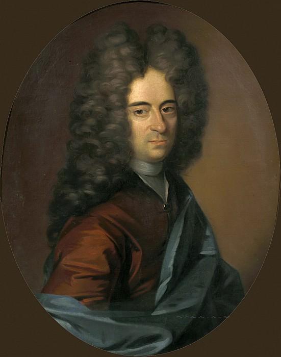 Gerrit Alberts - Portrait of a Man, probably Mathias Lambertus Singendonck (1678-1742), Burgomaster of Nijmegen. Mauritshuis