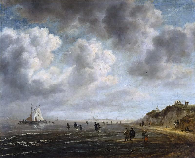 Jacob van Ruisdael (after) - Beach View. Mauritshuis