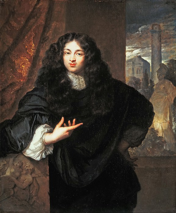 Caspar Netscher - Portrait of Maurits Le Leu de Wilhem (1643- 1724). Mauritshuis