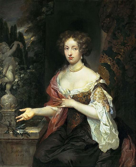 Нетшер, Каспар - Портрет Марии Тиммерс (1658-1753). Маурицхёйс