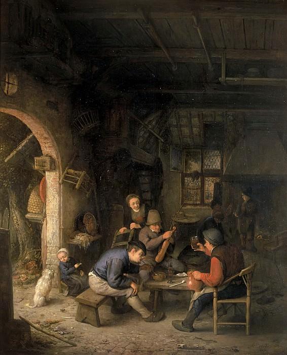 Остаде, Адриан ван - Крестьяне в таверне. Маурицхёйс