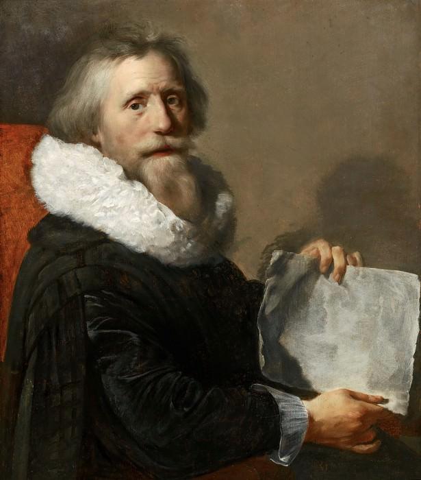 Paulus Moreelse - Self-Portrait. Mauritshuis