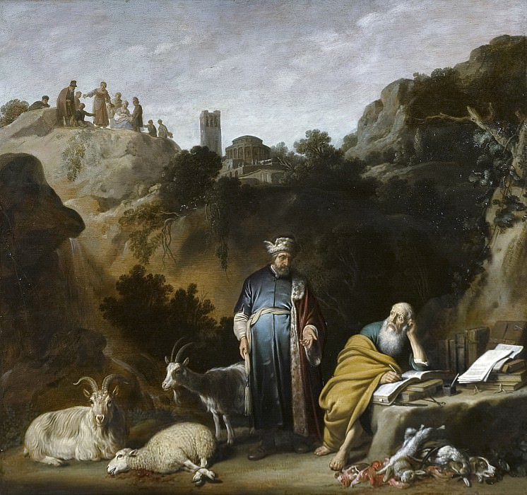 Nicolaes Moeyaert - Hippocrates Visiting Democritus. Mauritshuis