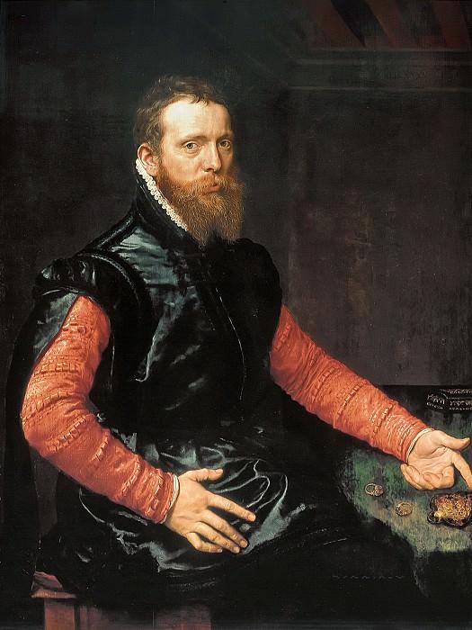 Anthonis Mor van Dashorst - Portrait of Steven van Herwijck (c.1530- 1565/67). Mauritshuis
