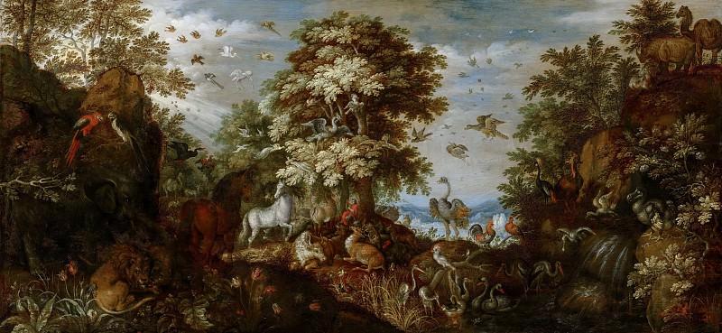 Саверей, Рулант - Орфей, околдовывающий своей музыкой животных. Маурицхёйс